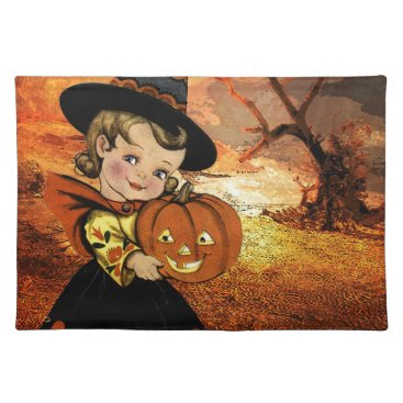 Halloween Themed HAPPY HALLOWEEN PLACEMAT