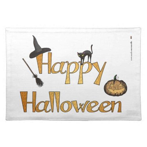 Happy Halloween Placemat