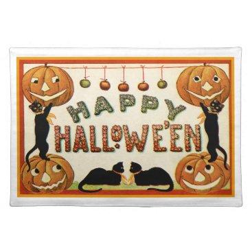 halloween Happy Halloween Placemat
