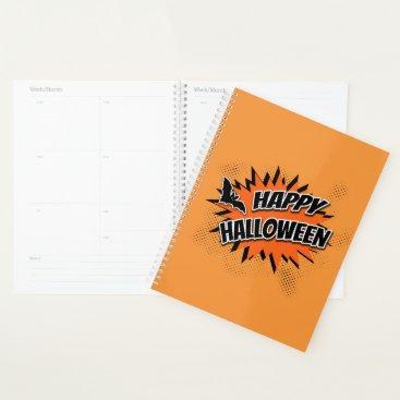 Halloween Themed Happy Halloween Planner