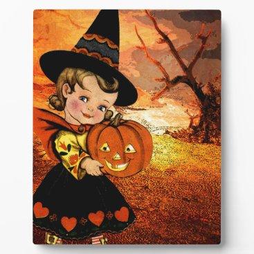 Halloween Themed HAPPY HALLOWEEN PLAQUE