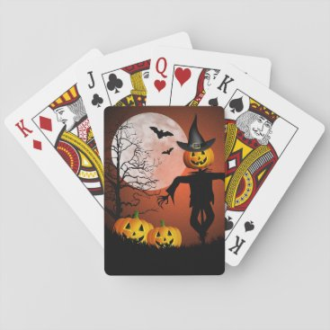 Halloween Themed Happy Halloween Playing Cards