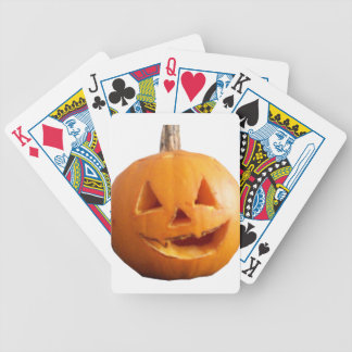 happy Halloween Bicycle Playing Cards