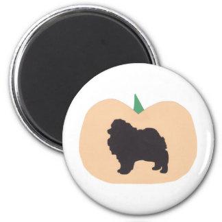 Happy Halloween Pomeranian Magnet