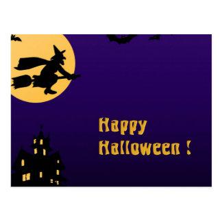 Happy Halloween Post Card