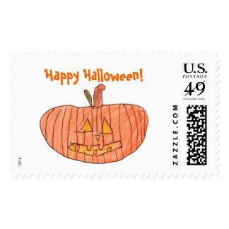 Happy Halloween! Postage Stamp