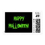 Happy Halloween Postage Stamp