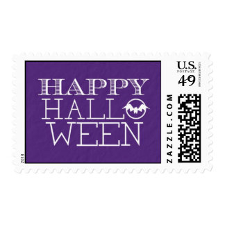Happy Halloween Postage Stamps