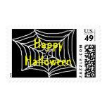 Happy Halloween - postage stamps
