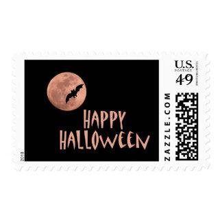 Happy Halloween Postage Stamps