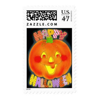 Happy Halloween ~ Postage Stamps