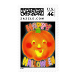 Happy Halloween ~ Postage Stamps