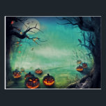"Happy Halloween Postcard<br><div class=""desc"">Happy Halloween Postcard. Please feel free to customize this product,  as You wish.</div>"