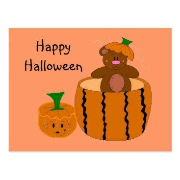 Halloween Themed Happy Halloween Postcard