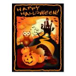 Happy Halloween! Postcard