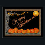 "Happy Halloween Postcard<br><div class=""desc"">Send some holiday &quot;spirit&quot; to your friends and family with this postcard!</div>"