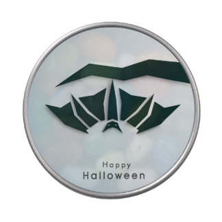 Happy Halloween Poster, Banner Or Flyer Candy Tins