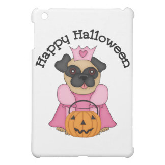 Happy Halloween Princess Pug 2 Cover For The iPad Mini