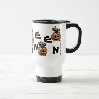 Happy Halloween-Pug in Jack O' Lantern Travel Mug