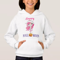 Happy Halloween pullover hoodie Mermaid pullover