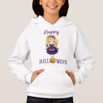 Happy Halloween pullover hoodie Princess pullover