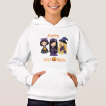 Happy Halloween pullover hoodie Princess pullover