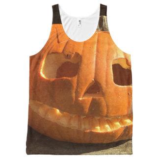 Happy Halloween Pumpkin All-Over-Print Tank Top
