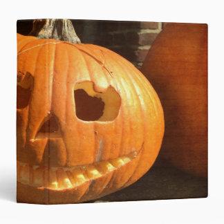 Happy Halloween Pumpkin Binder