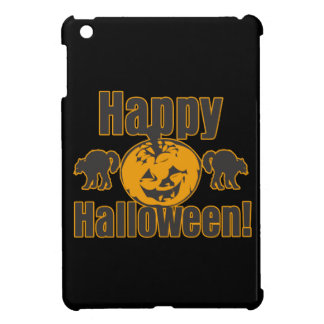 Happy Halloween Pumpkin Black Cats iPad Mini Cover