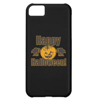 Happy Halloween Pumpkin Black Cats iPhone 5C Cover