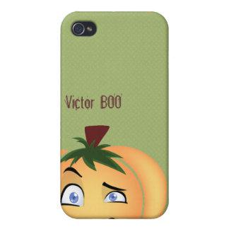 Happy Halloween Pumpkin Boy iPod Case For iPhone 4