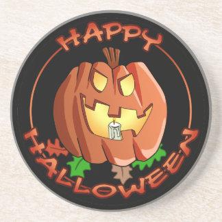 Happy Halloween Pumpkin Coaster
