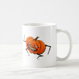 happy halloween pumpkin coffee mug
