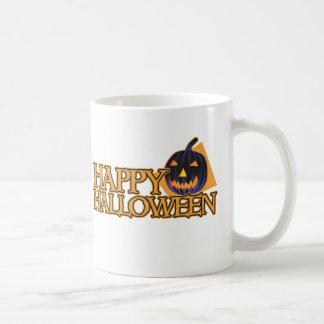 Happy Halloween Pumpkin Coffee Mugs