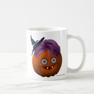 Happy_Halloween_Pumpkin_drinkware10r Taza Básica Blanca