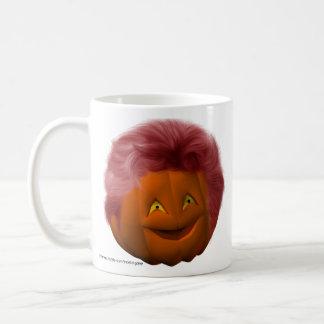 Happy_Halloween_Pumpkin_drinkware12 Taza Básica Blanca