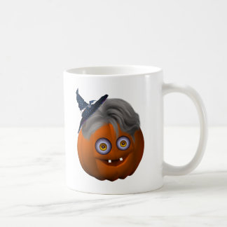 Happy_Halloween_Pumpkin_drinkware7r Taza Básica Blanca