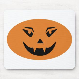 Happy Halloween Pumpkin Face Mouse Pad