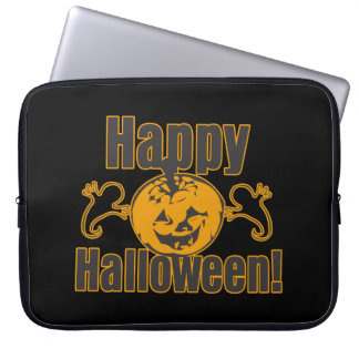 Happy Halloween Pumpkin Ghosts Costume Computer Sleeve