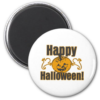 Happy Halloween Pumpkin Ghosts Costume Magnet