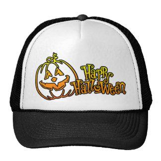 Happy Halloween Pumpkin Jackolantern Hat