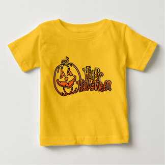 Happy Halloween Pumpkin Jackolantern Tee Shirt