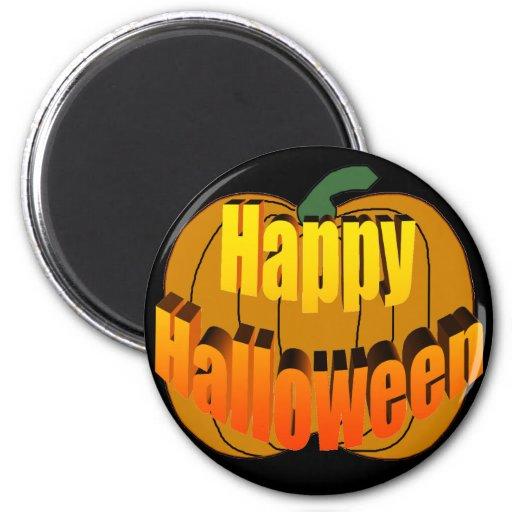 Happy Halloween Pumpkin Magnets