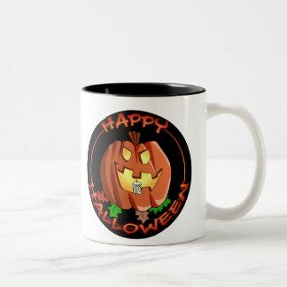 Happy Halloween Pumpkin Mug
