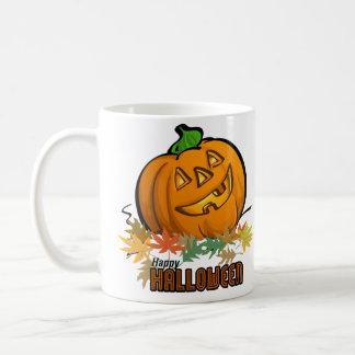 Happy Halloween Pumpkin Mugs