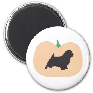 Happy Halloween Pumpkin Norfolk Terrier Magnet
