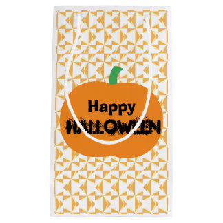 Happy Halloween Pumpkin Small Gift Bag