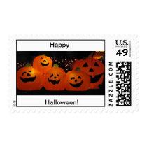 Happy Halloween Pumpkin stamps