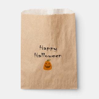 Happy Halloween Pumpkin Treat Bag