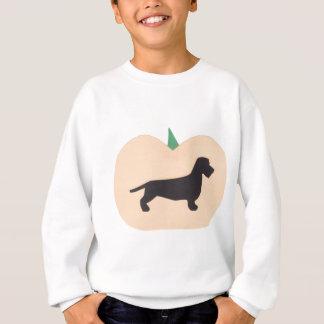 Happy Halloween Pumpkin Wire Hair Dachshund Sweatshirt